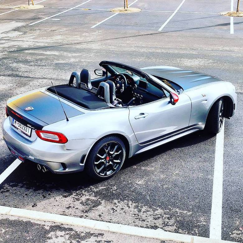Test Abarth 124 Spider