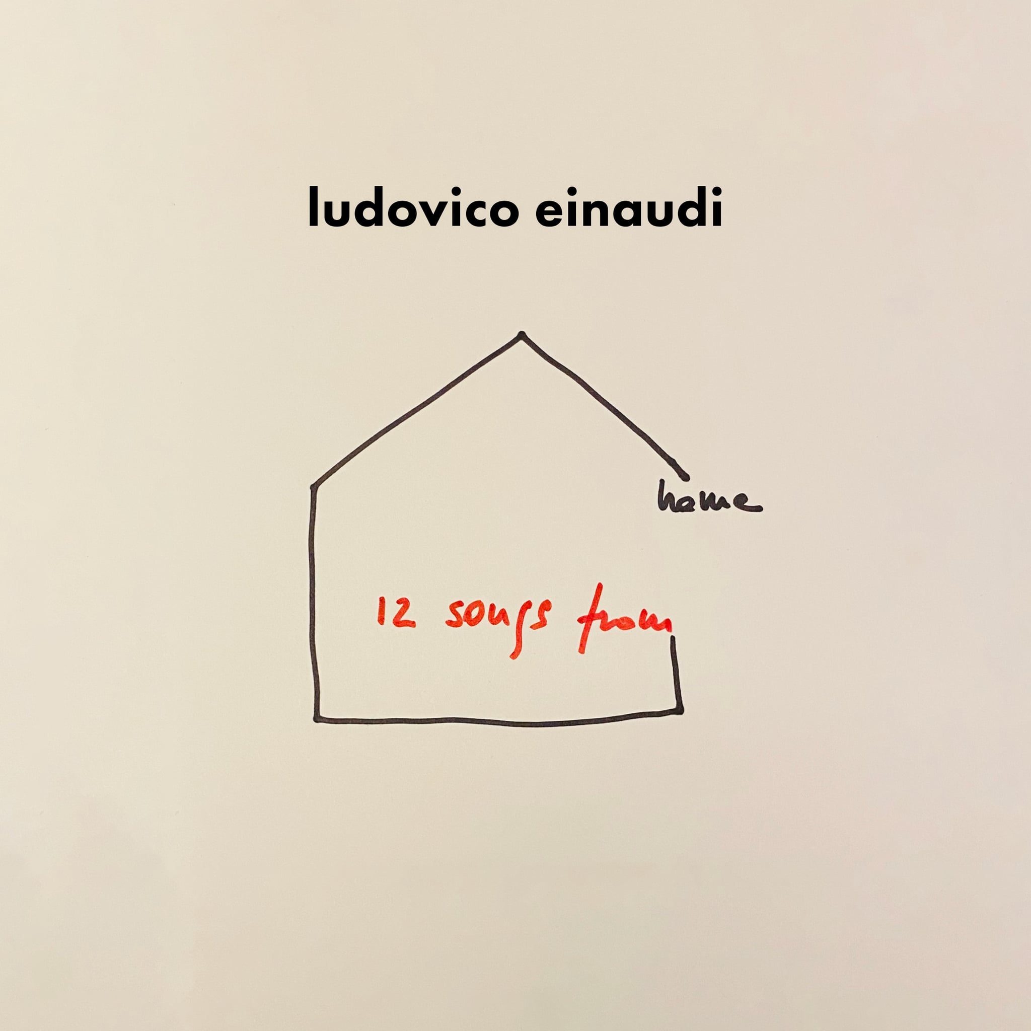 12 Songs from home - Ludovico Einaudi